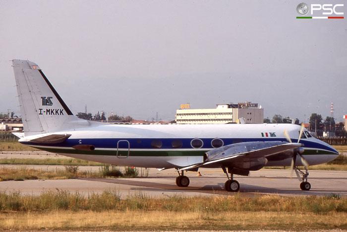 I-MKKK TAS Trasporti Aerei Speciali Gulfstream I I-MKKK @ Aeroporto di Verona © Piti Spotter Club Verona