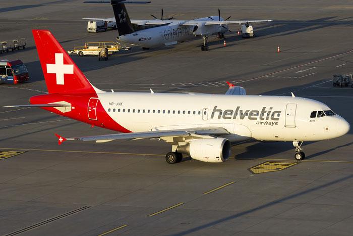 HB-JVK A319-112 1886 Helvetic Airways @ Zurich Airport 05.2016 © Piti Spotter Club Verona