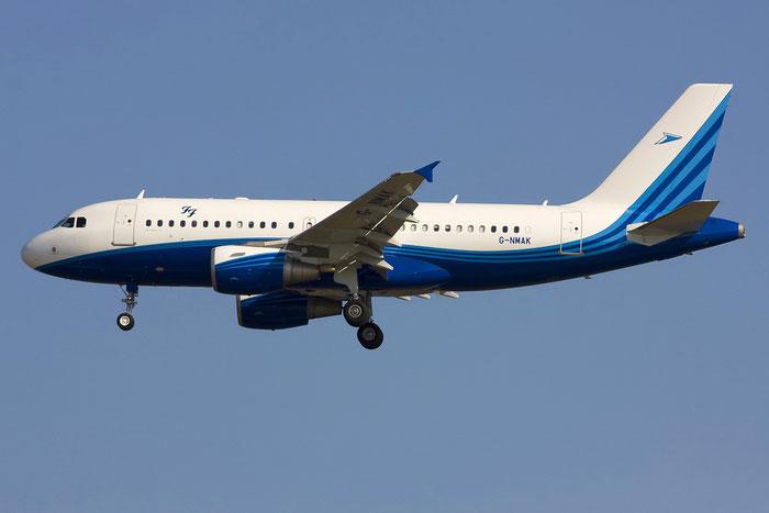 G-NMAK A319-115 (ACJ) (Foo Fighters Logo) 2550 Twinjet Aircraft @ Venezia Airport 12.08.2012 © Piti Spotter Club Verona