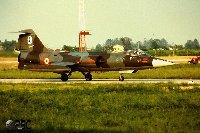 MM6735  9-50  F-104S-ASA-M  1035 @ Aeroporto di Verona   © Piti Spotter Club Verona