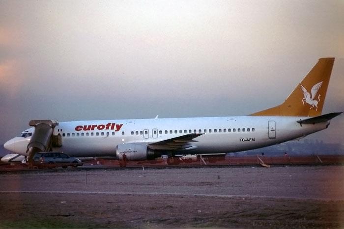 TC-AFM  B737-4Q8  26279/2221  Eurofly  @ Aeroporto di Verona © Piti Spotter Club Verona