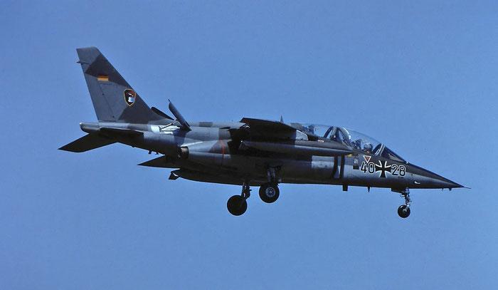 40+28   Alpha Jet A  0028 © Piti Spotter Club Verona