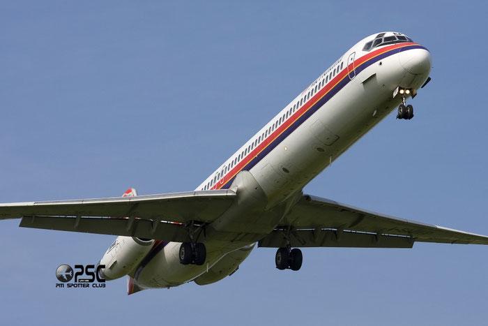 I-SMEP  MD-82  49740/1618  Meridiana  @ Aeroporto di Verona © Piti Spotter Club Verona