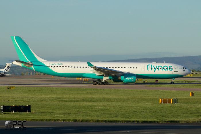 CS-TMT A330-322 96 Flynas @ Manchester Airport 13.05.2014 © Piti Spotter Club Verona