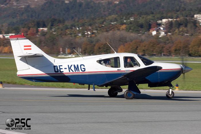 OE-KMG - FlyTyrol Rockwell Commander 112 @ Innsbruck Airport 26.10.2013 © Piti Spotter Club Verona