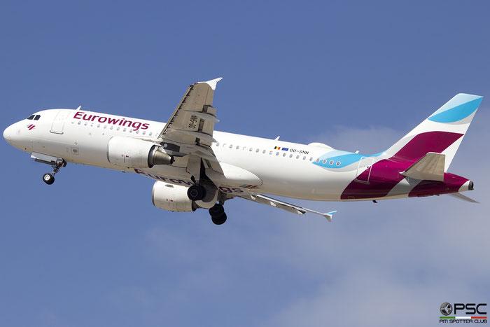 OO-SNN  A320-214  4269  Brussels Airlines Eurowings c/s @ Heraklion 2019 © Piti Spotter Club Verona