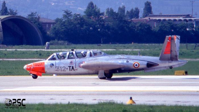 507  312-TA  CM170  507 @ Aeroporto di Verona   © Piti Spotter Club Verona