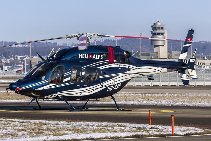HB-ZAP Bell Helicopter Textron Canada 429 B429 57174 Heli Alpes SA / ZAP Swiss Ltd@ Zurich Airport 21.01.2016 © Piti Spotter Club Verona