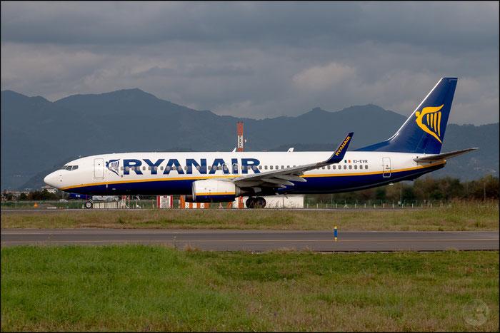 EI-EVR B737-8AS 40295/4166 Ryanair @ Bergamo Airport 14.10.2014 © Piti Spotter Club Verona