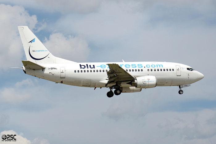 I-BPAL B737-5K5 24927/1968 Blu-Express @ Bologna Airport 04.05.2014  © Piti Spotter Club Verona