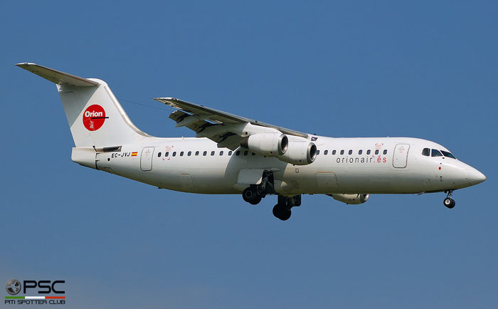 EC-JVJ BAe146-300 E3195 Orionair @ Aeroporto di Verona © Piti Spotter Club Verona