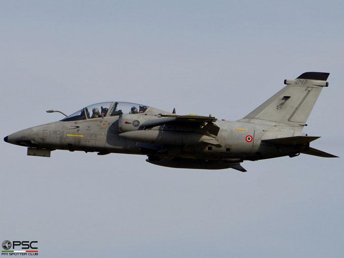 MM55043  51-81  AMX-T ACOL  IT018  GEA 51° Stormo @ Aeroporto di Verona   © Piti Spotter Club Verona