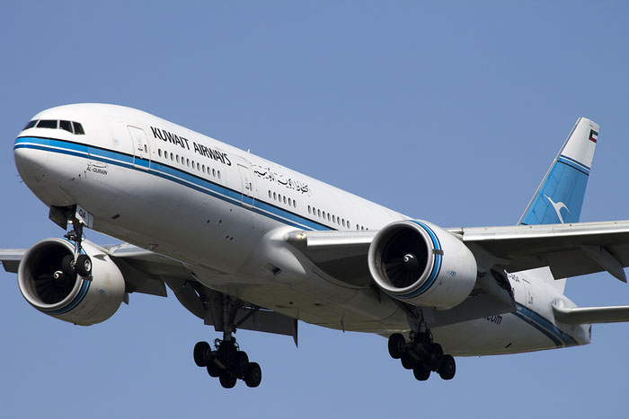 9K-AOA B777-269ER 28743/125 Kuwait Airways @ London Heathrow Airport 13.05.2015 © Piti Spotter Club Verona