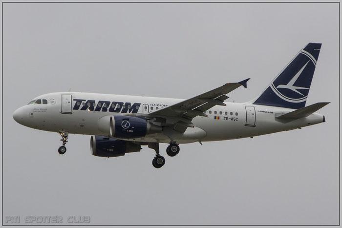 YR-ASC A318-111 3220 TAROM - Transporturile Aeriene Romane @ Frankfurt Airport 22.10.2014 © Piti Spotter Club Verona