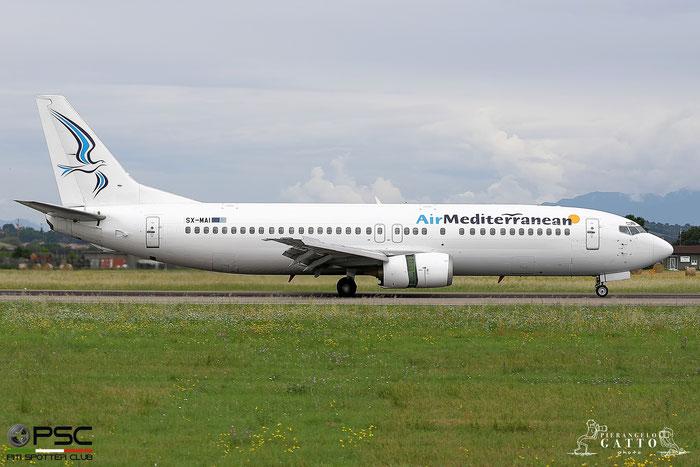 SX-MAI B737-4K5 24901/1854 Air Mediterranean @ Aeroporto di Verona 13.06.2018  © Piti Spotter Club Verona