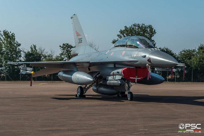 306   F-16BM  6L-6  331 skv © Piti Spotter Club Verona