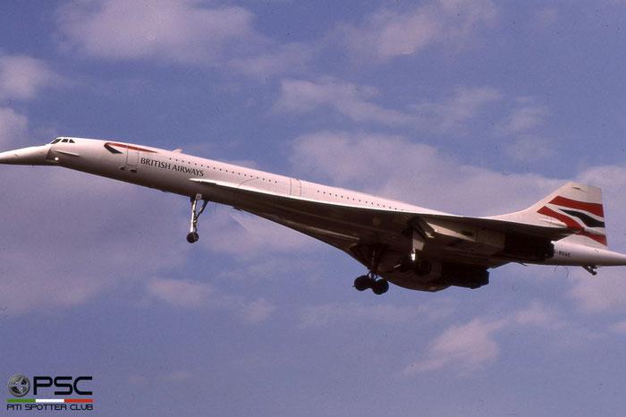 G-BOAE Concorde 102 212 British Airways © 2018 courtesy of Marco Ceschi - Piti Spotter Club Verona