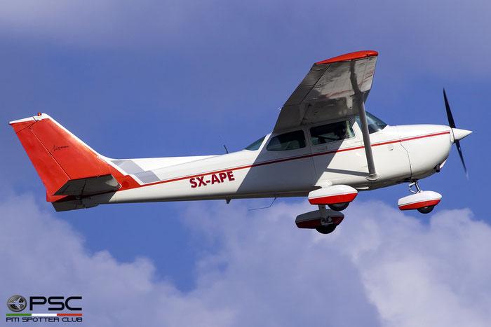 SX-APE. Cessna 172P Skyhawk II. @ Skiathos Airport 07.2017 © Piti Spotter Club Verona