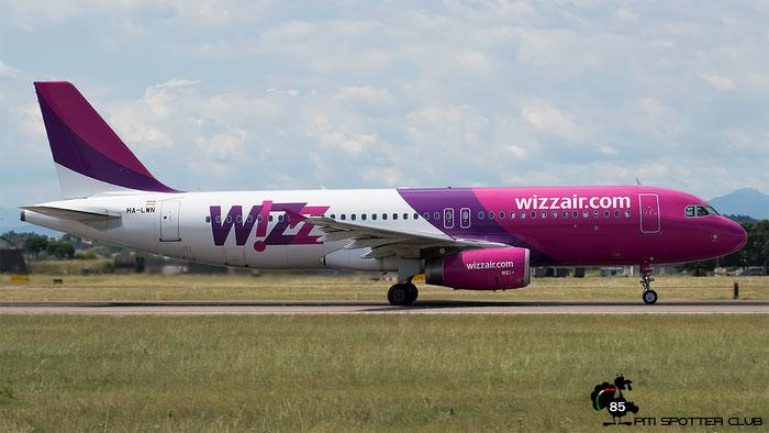 HA-LWN A320-232 5075 Wizz Air @ Aeroporto di Verona - 15/07/2016 © Piti Spotter Club Verona