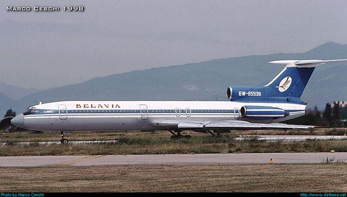 EW-85538 Tupolev Tu-154B-2  @ Aeroporto di Verona © Piti Spotter Club Verona