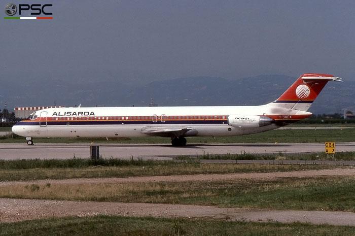 I-SMEA  DC-9-51  47713/820  Alisarda - Linee Aeree della Sardegna  @ Aeroporto di Verona © Piti Spotter Club Verona