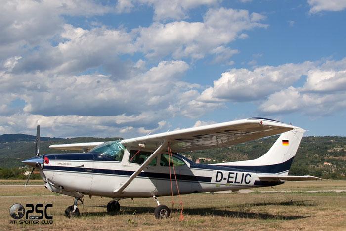 D-ELIC Cessna TR182 Turbo Skylane RG C82R R18201847 @ Aeroporto Verona Boscomantico © Piti Spotter Club Verona