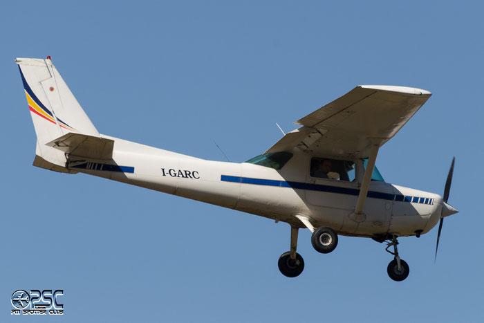 I-GARC Airline: ITAer Forlì Aircraft: Cessna 152 @ Aeroporto di Bolzano © Piti Spotter Club Verona