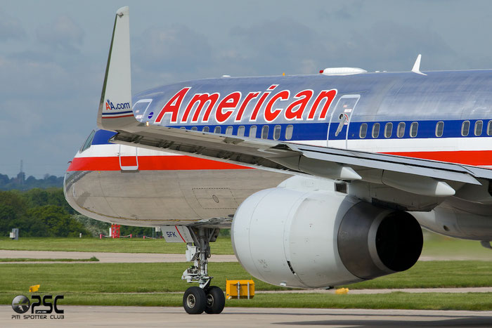 N175AN B757-223 32394/992 American Airlines @ Manchester Airport 13.05.2014 © Piti Spotter Club Verona