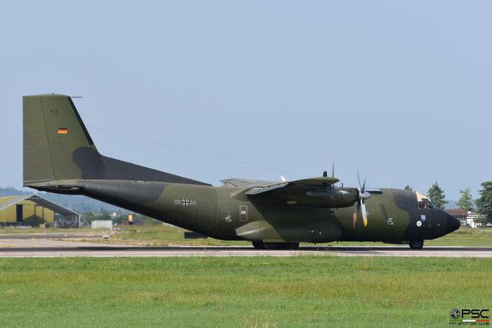 50+66   C-160D  D103  LTG63  © Piti Spotter Club Verona @ Aeroporto di Verona   © Piti Spotter Club Verona