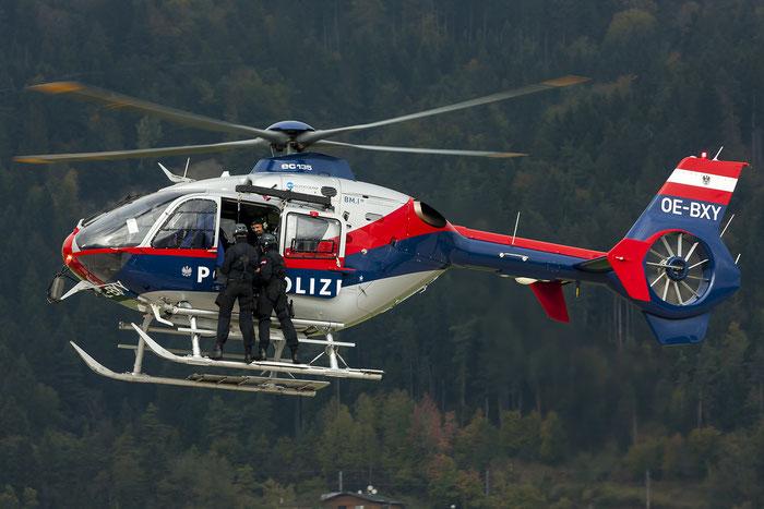 OE-BXM Eurocopter EC135 P2+ Flugpolizei (Air Police) @ Innsbruck Airport 10.2014 © Piti Spotter Club Verona