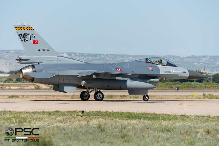 89-0024   F-16C-40-CF  4R-42  141 Filo © Piti Spotter Club Verona