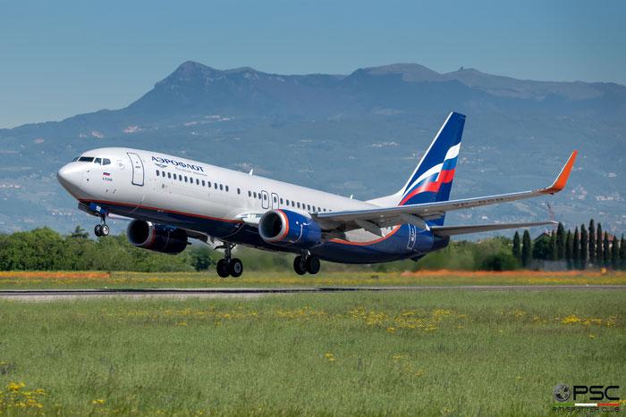 VP-BSB B737-800 44442/6730 Aeroflot @ Aeroporto di Verona 04.2019  © Piti Spotter Club Verona
