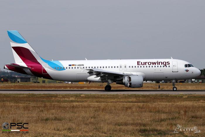 D-ABHN A320-214 4368 Eurowings@ Aeroporto di Verona 06.09.2017  © Piti Spotter Club Verona