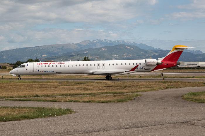 EC-MJQ CRJ1000 19047 Air Nostrum   @ Aeroporto di Verona 21.08.2017  © Piti Spotter Club Verona