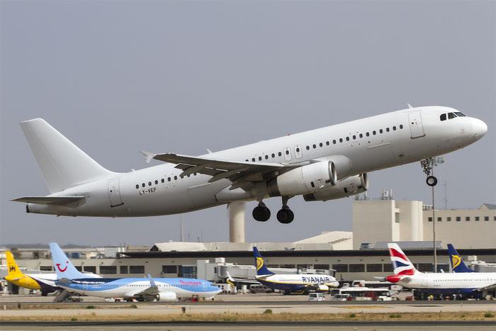 LY-VEP A320-233 561 Avion Express @ Palma de Mallorca Airport 07.2014 © Piti Spotter Club Verona