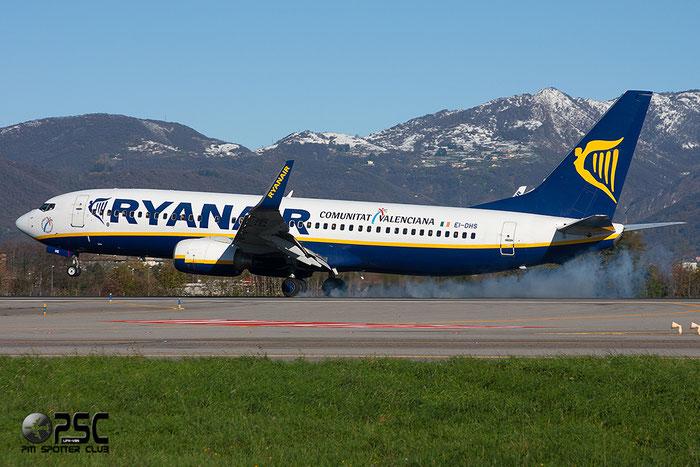 EI-DHS B737-8AS 33580/1807 Ryanair @ Bergamo Airport 25.11.2013 © Piti Spotter Club Verona