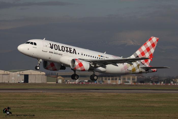 EC-MUT  A319-111  2240  Volotea Air @ Aeroporto di Verona 2020 © Piti Spotter Club Verona