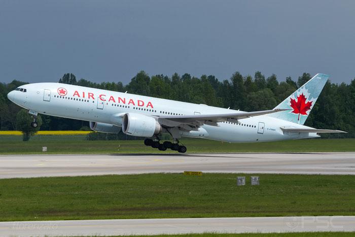 C-FNNH B777-233LR 35247/699 Air Canada @ Munich Airport 15.05.2016 © Piti Spotter Club Verona