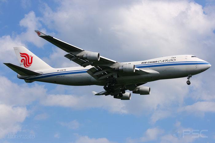 B-2476 B747-4FTF 34240/1373 Air China Cargo @ Frankfurt Airport 20093 © Piti Spotter Club Verona