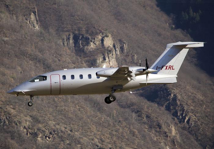 I-FXRL Piaggio Aero Industries P-180 Avanti II P180 1225 FXR - K-Air @ Aeroporto di Bolzano © Piti Spotter Club Verona