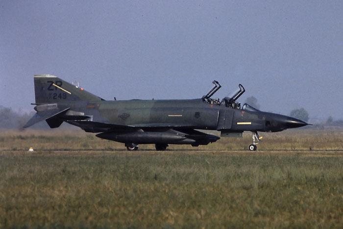 71-0249  BA  RF-4C  4215  Kirtland AFB @ Aeroporto di Verona   © Piti Spotter Club Verona