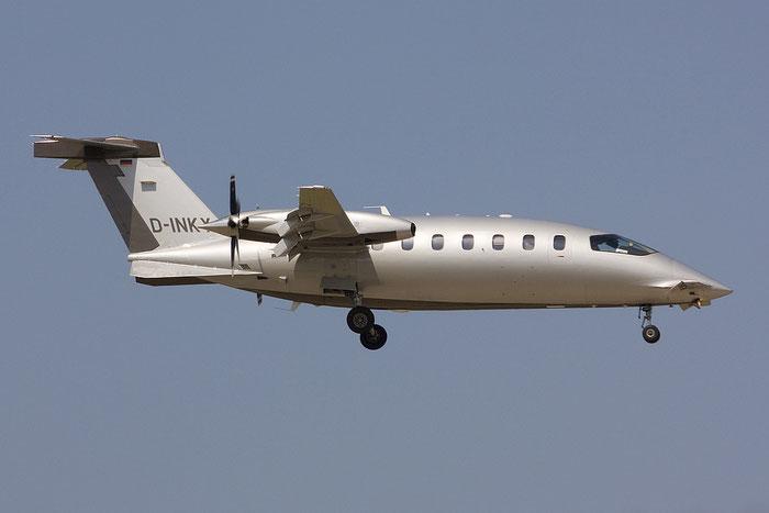 D-INKY P180 1162 AirGo Flugservice GmbH @ Rimini Airport 18.07.2012 © Piti Spotter Club Verona