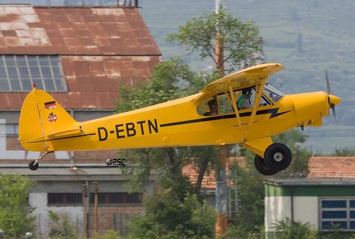 D-EBTN Piper PA-18 PA18 @ Aeroporto Verona Boscomantico © Piti Spotter Club Verona