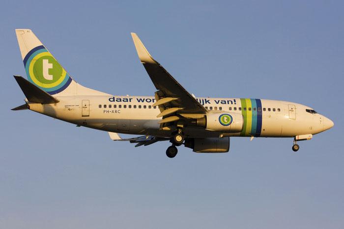 PH-XRC B737-7K2 29347/1318 Transavia Airlines @ Treviso Airport 09.12.2011  © Piti Spotter Club Verona