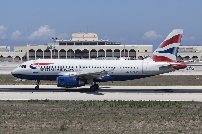 G-DBCE A319-131 2429 British Airways @ Malta Airport 08.2015 © Piti Spotter Club Verona