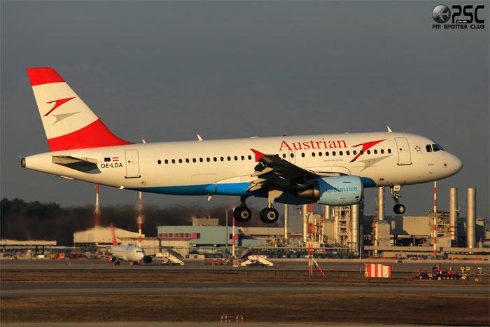 OE-LDA A319-112 2131 Austrian Airlines @ Milano Malpensa Airport 24.02.2014 © Piti Spotter Club Verona