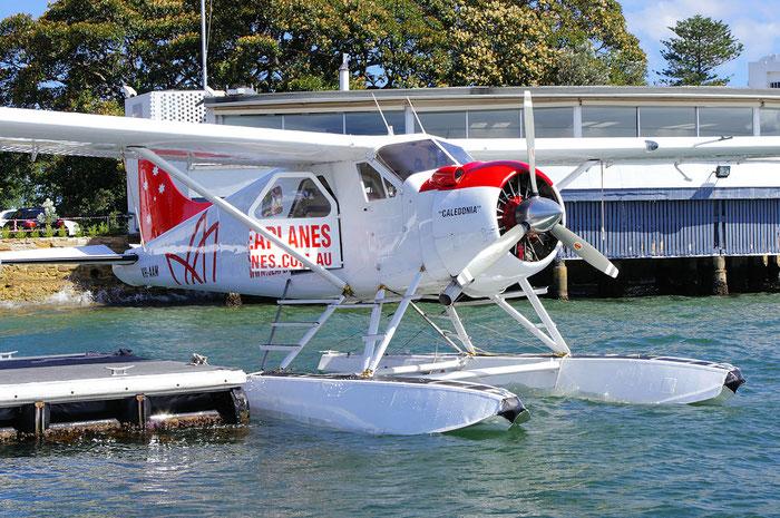 VH-AAM De Havilland Canada DHC-2 Mk.I Beaver @ Sydney .2011 © Piti Spotter Club Verona