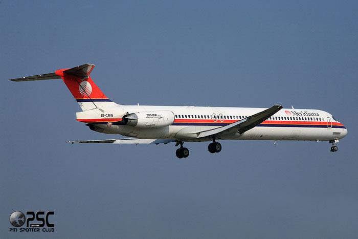 EI-CRW  MD-83  49951/1915  Meridiana  @ Aeroporto di Verona © Piti Spotter Club Verona