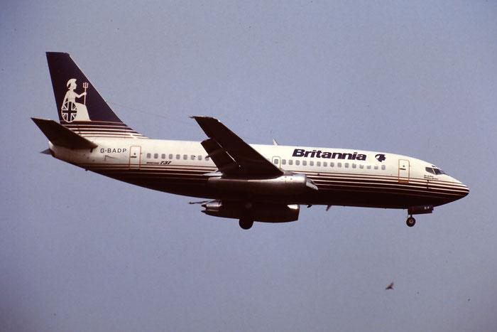 G-BADP  B737-204  20632/316  Britannia Airways  @ Aeroporto di Verona © Piti Spotter Club Verona