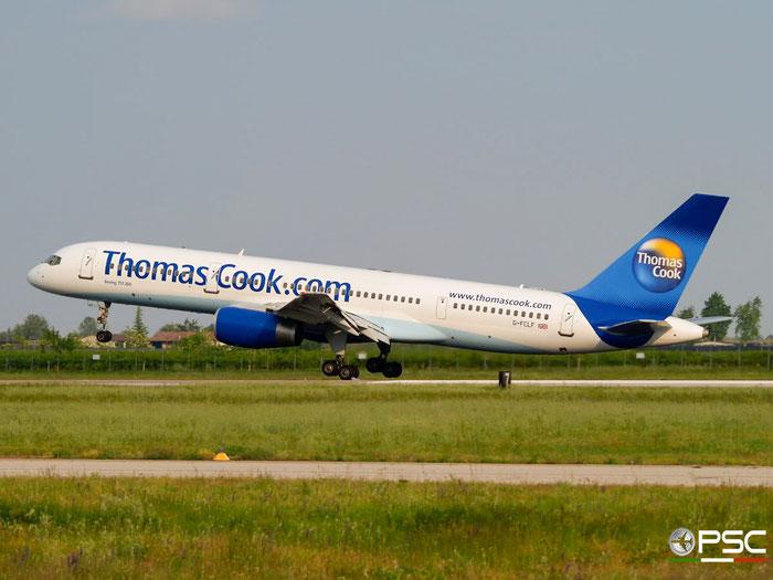 G-FCLF B757-28A 28835/858 Thomas Cook Airlines @ Aeroporto di Verona 10.05.2008  © Piti Spotter Club Verona